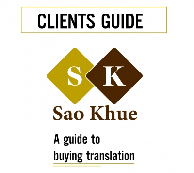 Translation Service Guideline for Clients