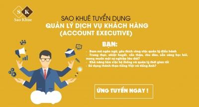 Sao Khuê tuyển dụng vị trí Quản lý dịch vụ khách hàng