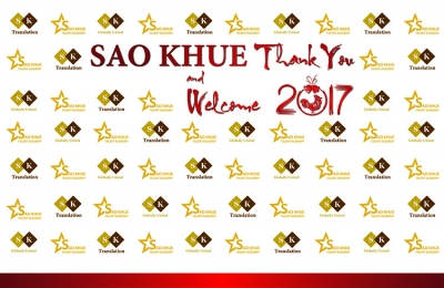 SAO KHUE THANK YOU AND WELCOME 2017