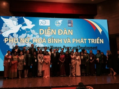 International forum on women, peace and development opens in Hanoi